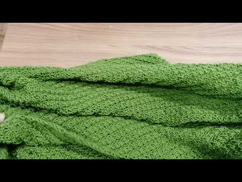 Вязание спицами. Шарфы интересным, простым узором.