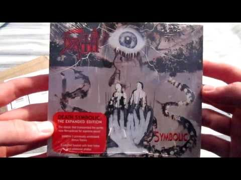Death - Symbolic The Expanded Edition (unwrapping)