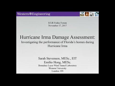 ICLR Friday Forum: Hurricane Irma Damage Assessment (November 17, 2017)