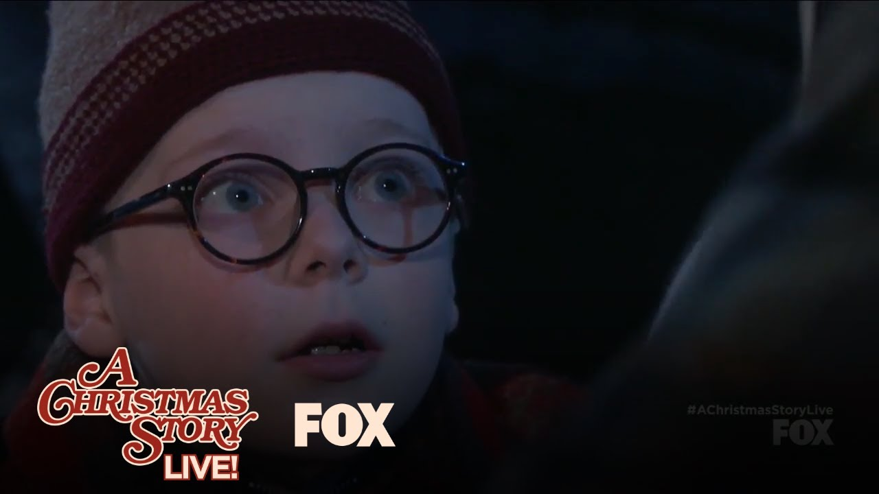 Ralphie Swears On Accident While Helping His Dad | A CHRISTMAS STORY LIVE
