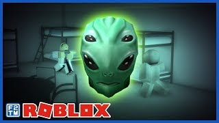 Shape shifting Alien running around lab in Roblox Incursion