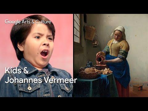 Kids Explain Art to Experts: Aaron (9) vs Johannes Vermeer | #NameThatArt