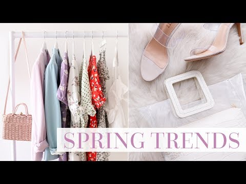 6 KEY NEW SEASON TRENDS TO BUY NOW   SPRING 2019