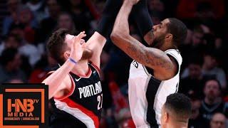 San Antonio Spurs vs Portland Trail Blazers Full Game Highlights | 02/07/2019 NBA Season