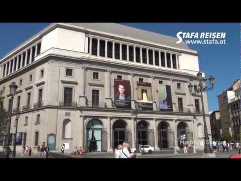 STAFA REISEN Video: Stadtbesichtigung, Madrid
