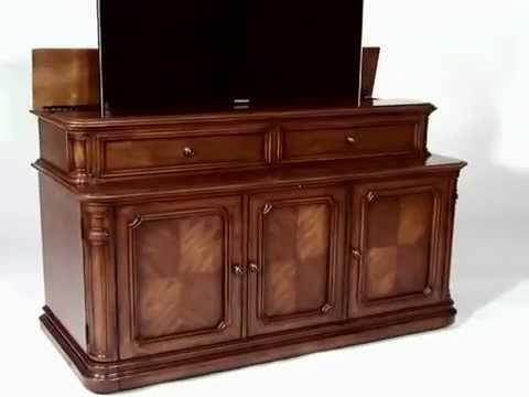 Banyan Creek Xl Tv Lift Cabinet