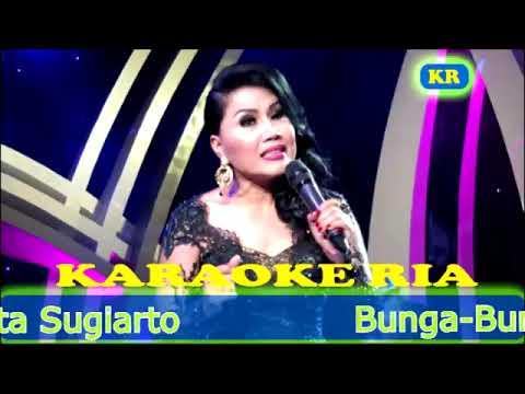 Bunga Bunga Rindu ~ Rita Sugiarto (Karaoke Dangdut Lawas)