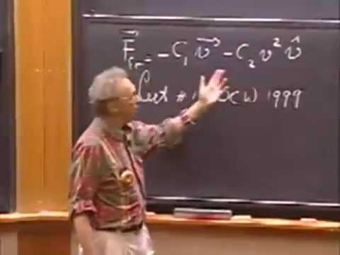 Lec 02: Beats, Damped Free Oscillations, Quality Q | 8.03 Vibrations and Waves (Walter Lewin)