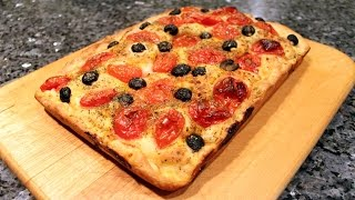 Focaccia Recipe - OrsaraRecipes