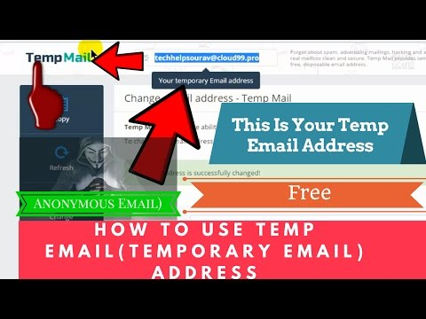 How To Use TEMP EMAIL(Temporary Email) ADDRESS Simple Tricks-Step By Step  (Anonymous Email) Free