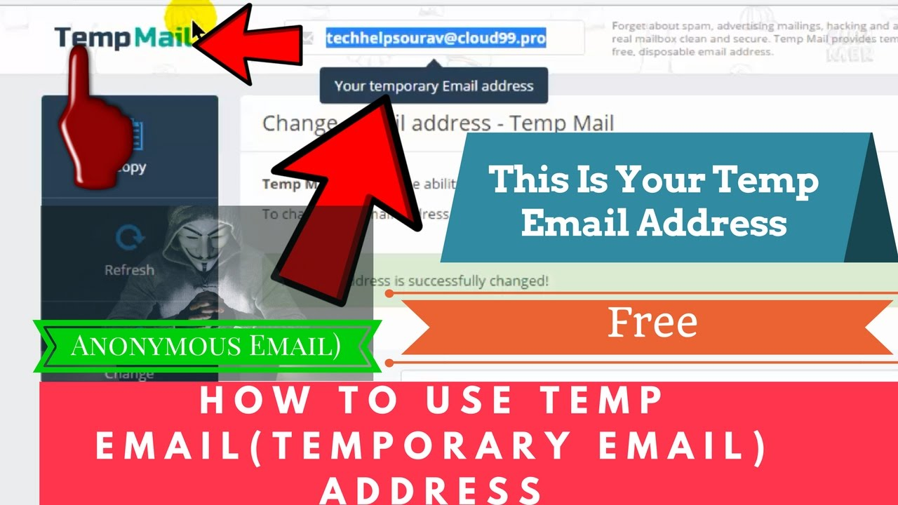 how to use temp email temporary email address simple tricks step by