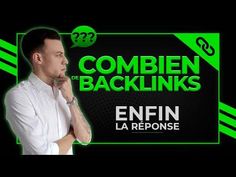 SEO : Combien de Backlinks pour Réussir ???