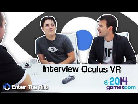 Gamescom 2014 : Interview Palmer Luckey & Nate Mitchell (Oculus VR)