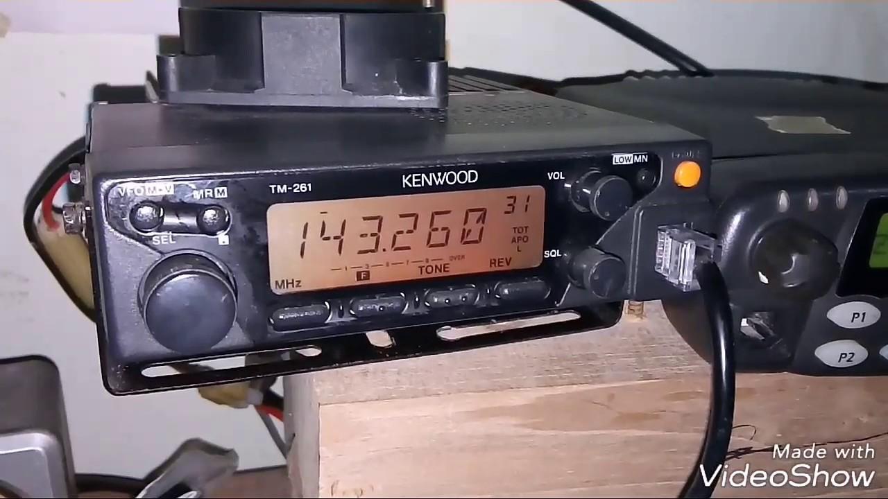 Kenwood tm-261 manual.