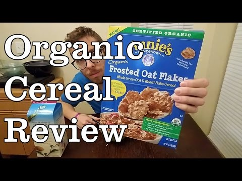 Product Review Annies Organic Oat Flakes Cereal