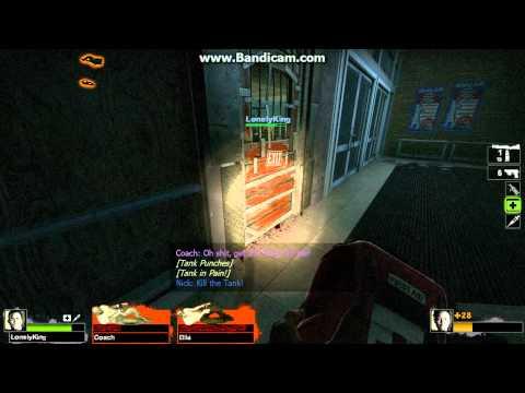 When the Tank BREAKS the safe room door...