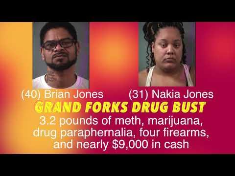 Big Drug Bust In Grand Forks