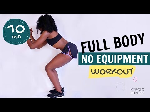 10-Move Full-Workout in your own home