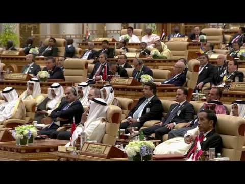 Trump's speech in Saudi Arabia, in 3 minutes
