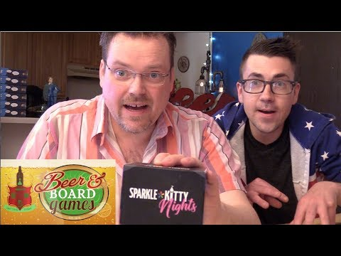 Sparkle Kitty Nights | Beer and Board Games