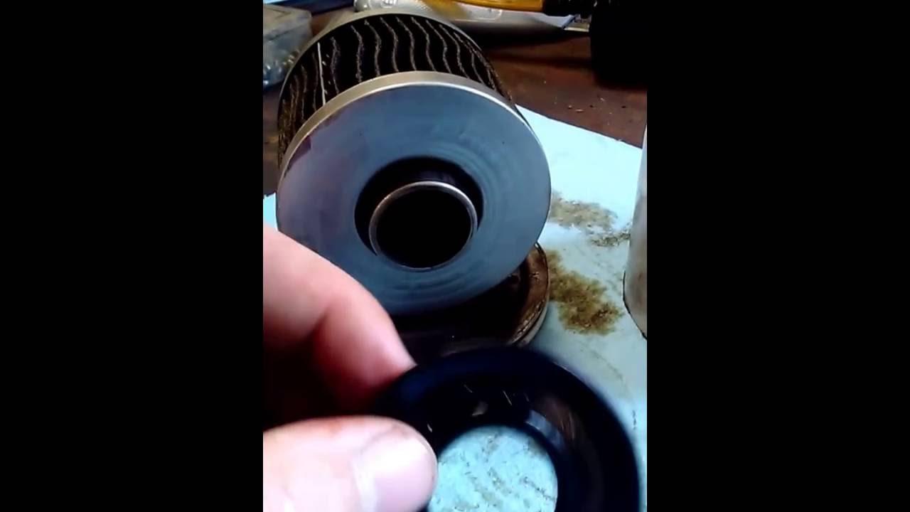 Napa Proselect Oil Filter Cut Open