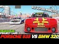 Project Cars 2: PORSCHE 935 vs BMW 320 TURBO (Group 5)