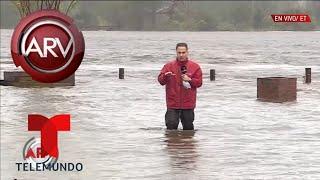Wilmington sufre fuertes inundaciones por Florence | Al Rojo Vivo | Telemundo