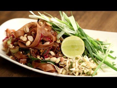 Pad Thai Noodles | Popular Thai Food Recipe | The Bombay Chef – Varun Inamdar