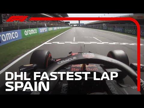 Max Verstappen's Fastest Lap | 2021 Spanish Grand Prix | DHL