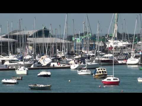 The Marina in Malahide - Beautiful Irish landscape - Ireland - HD