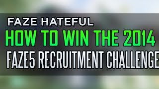 Repeat youtube video FaZe Hateful: How to Win #FAZE5 in 2014! - FaZe RC
