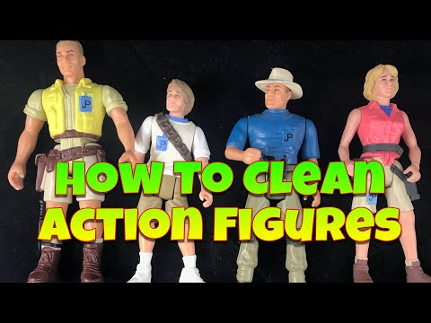 How To Clean Action Figures
