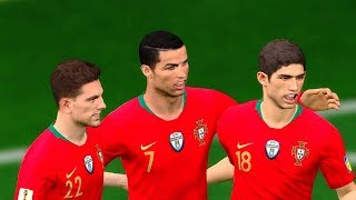 PORTUGAL vs MOROCCO | Group B | FIFA World Cup Russia 20 June 2018 Gameplay