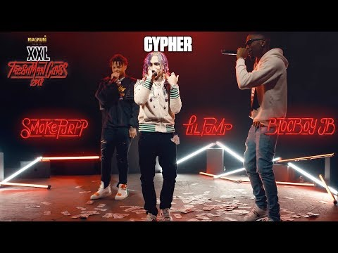 Lil Pump, BlocBoy JB and Smokepurpp's Cypher - 2018 XXL Freshman on YouTube