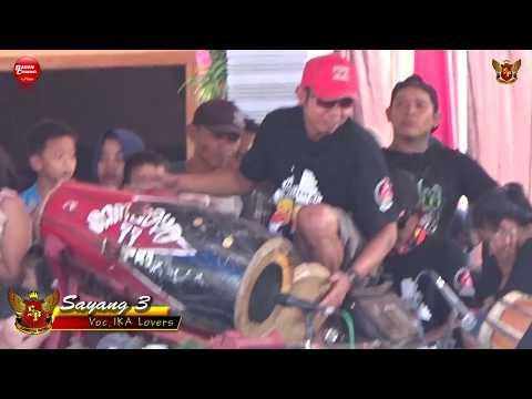 Lagu Jaranan Hits SAYANG 3 Voc IKA Lovers | SAMBOYO PUTRO Live Mabung Baron 2018