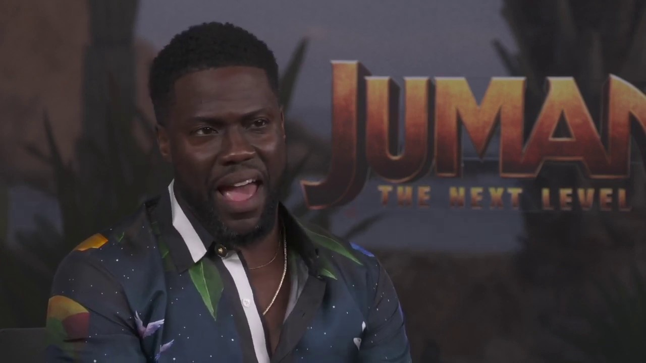 Jumanji: The Next Level's Kevin Hart Writes Sweet Message for ...