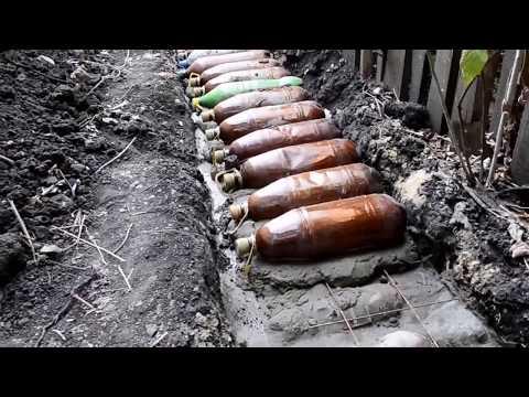 Как построить дом из пластиковых бутылок своими руками фото