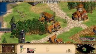 Age of Empires 2: HD Edition. 1st mission Barbarossa 1/6