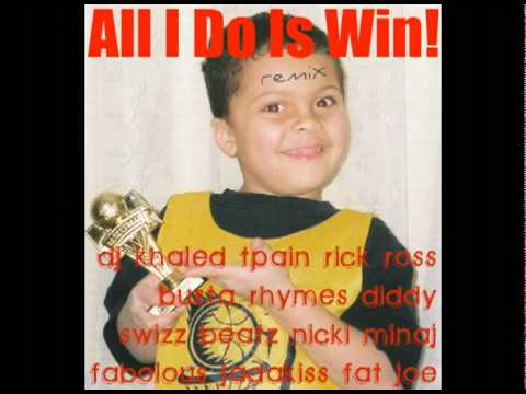 DJ Khaled - ALL I DO IS WIN REMIX [with Download Link!]