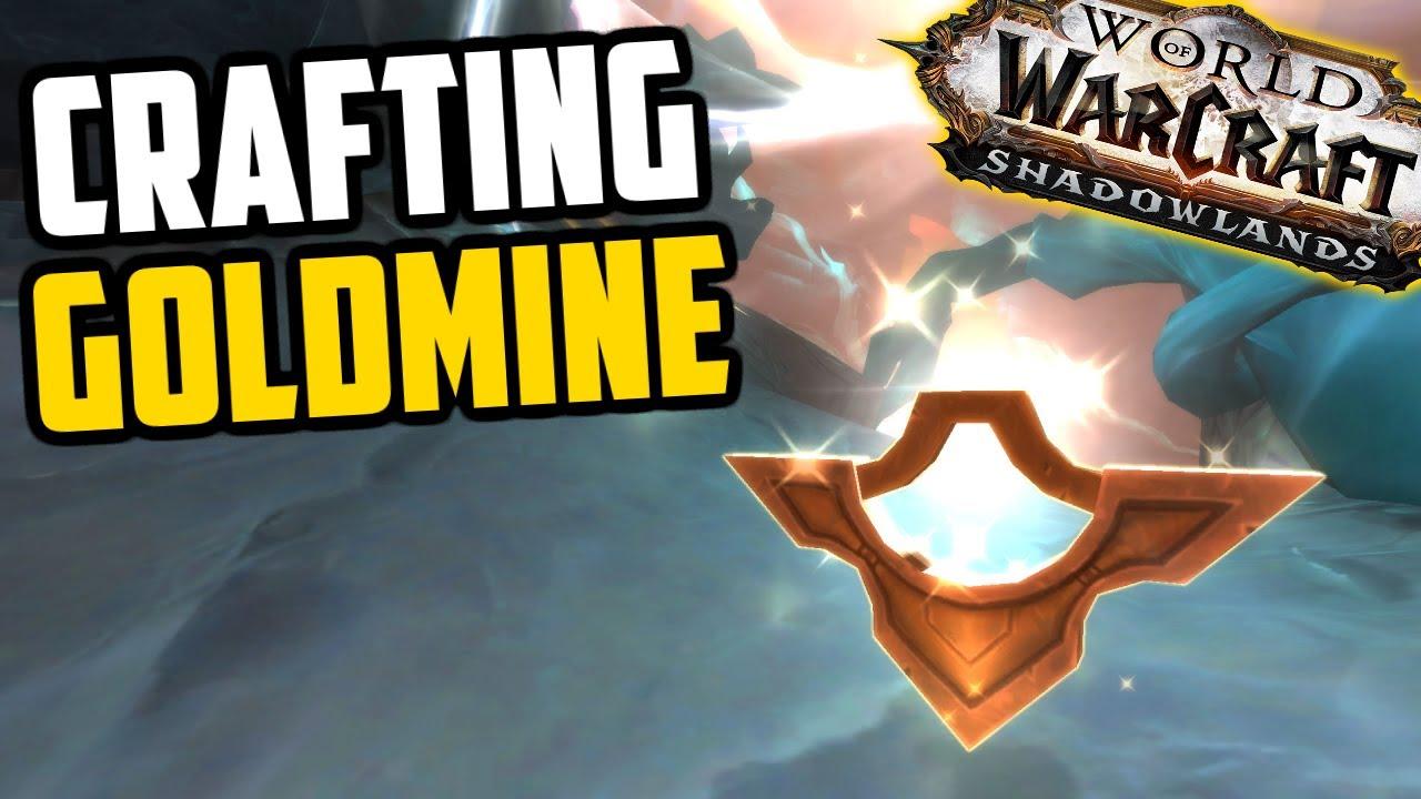"The ""Secret"" Crafting Goldmine of Shadowlands - Goldmaking Guide"