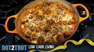 Saucy Meatball Casserole | Keto Gold