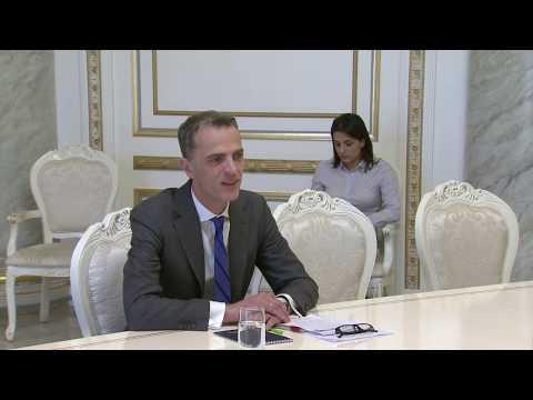 Nikol Pashinyan met with the representative of IMF in Armenia