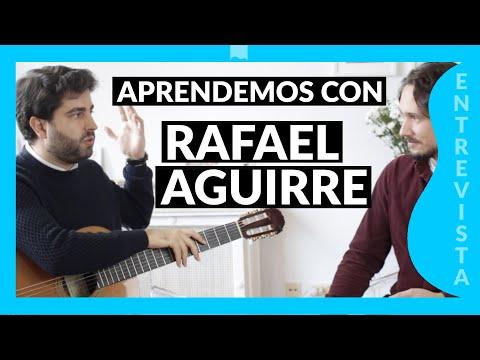 RAFAEL AGUIRRE Entrevista - TÉCNICAS DE ESTUDIO