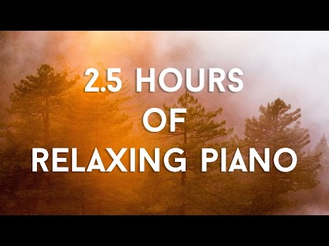 2.5 Hours of Relaxing Piano Music | For Studying, Sleeping, Relaxing