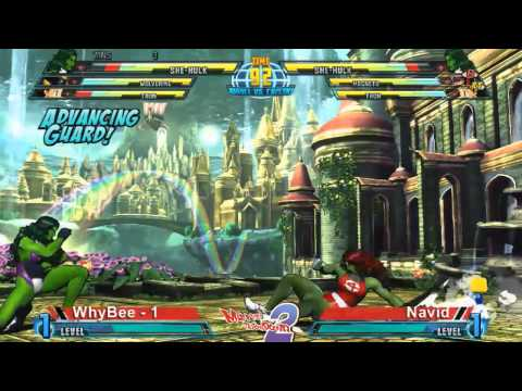 WhyBee vs Navid - Marvel Throwdown 2 @ Metropolis Comics And Toys