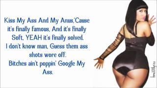 Nicki Minaj - Dance (Ass) Verse Lyrics Video