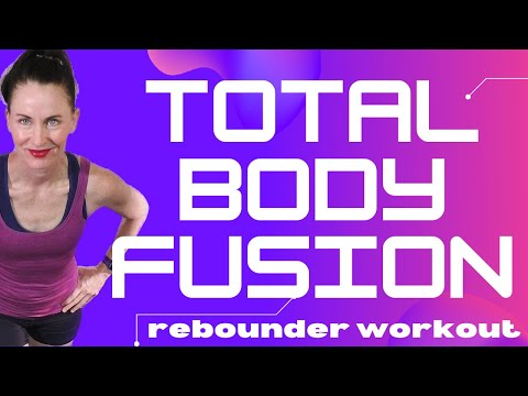 45 MIN WORKOUT| REBOUNDER EXERCISES | REBOUNDER CARDIO & SCULPT ROUTINE| LEAPS & REBOUNDS REBOUNDER from YouTube · Duration:  45 minutes 25 seconds