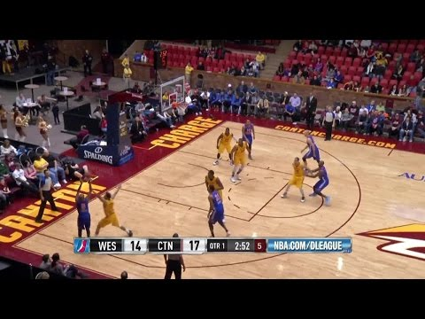 Highlights: Walker Russell (20 points) vs. the Charge, 1/10/2015