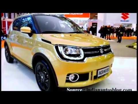 Maruti Suzuki Ignis Price Specification Interior Exterior In