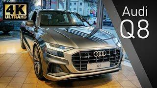 2019 Audi Q8 Walkaround Review (4K)